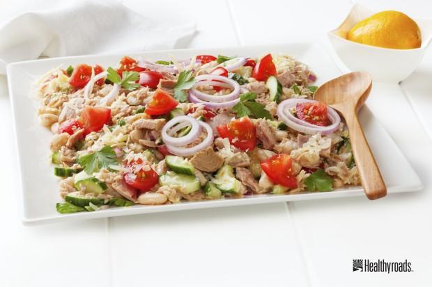 Italian-Style Bean Salad 5-21-2014