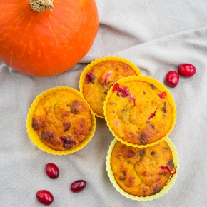 Pumpkin Cranberry Muffins_Large